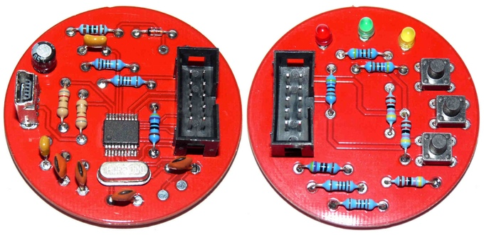 "The PCBs ""Made in China"""